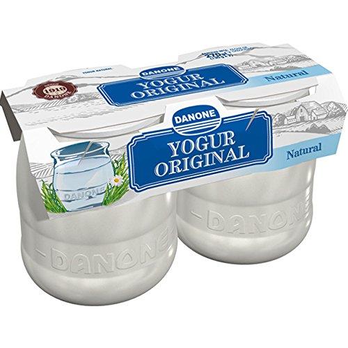 Danone - Yogur Natural, Pack 2 x 135 g: Amazon.es: Alimentación y bebidas
