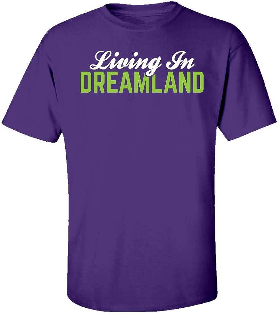 Living in Dreamland Cool Creative Design Kids T-Shirt Purple
