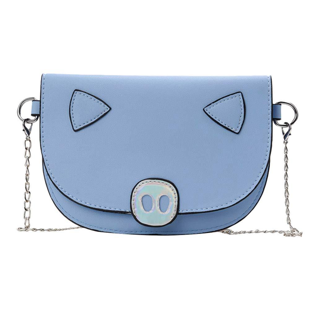 Fashion Women Hasp Solid Color Chain Shoulder Bags Messenger Bag Phone Bag