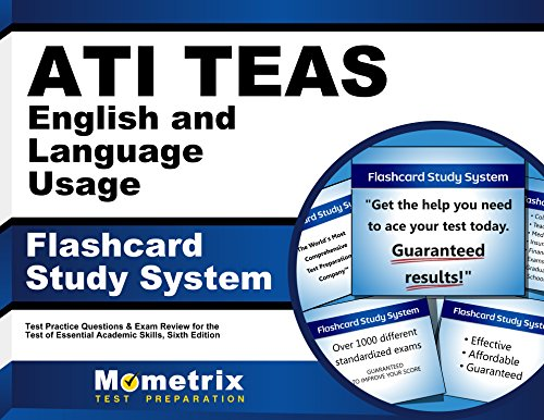 ATI TEAS English and Language Usage Flashcard Study System: TEAS 6 Test Practice Questions & Exam Review for the Test of Essential Academic Skills, Sixth Edition (Cards)