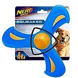 Nerf Dog 9'' TPR/Foam Tri-flyer, Pet Squeak Toy