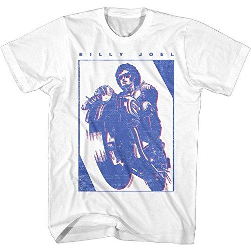 (American Classics Billy Joel T Shirt Billy Joel Adult Short Sleeve S)