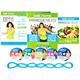 Walk at Home Leslie Sansone's Miracle Miles 5 DVD Set Exercise