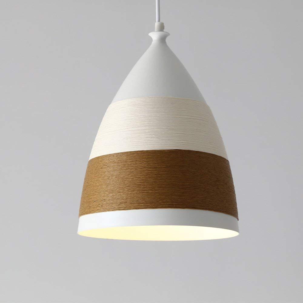 MEIDI Home Hanfseil-Leuchter-modernes minimalistisches kreatives Deckenlicht (Farbe   B)