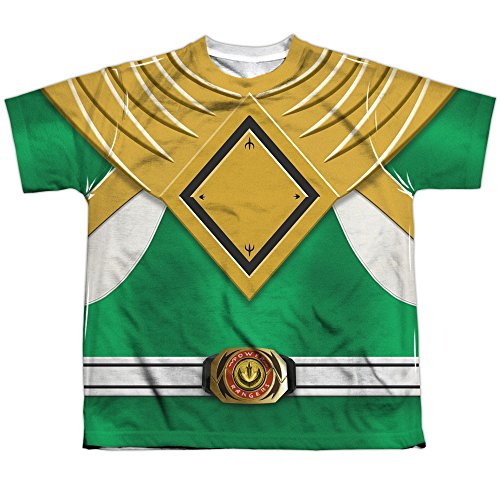 Sublimation Youth: Power Rangers - Green Ranger Costume All Over Print -