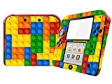 #1: Sticker Skins for 2DS, Geometry Shape Jigsaw Block Vinyl Skin Sticker Decal Wrap For Nintendo 2DS Console