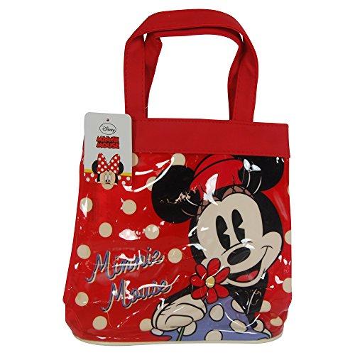 Disney Bolsa de tela y de playa, rojo (Rojo) - DMINN001172