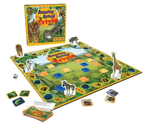 Amazing Animal Trivia Game (iplay Amazing Animal Trivia Game)