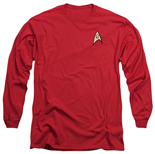 Star Trek Original Series Uniform (Long Sleeve: Star Trek The Original Series Engineering Uniform Shirt)
