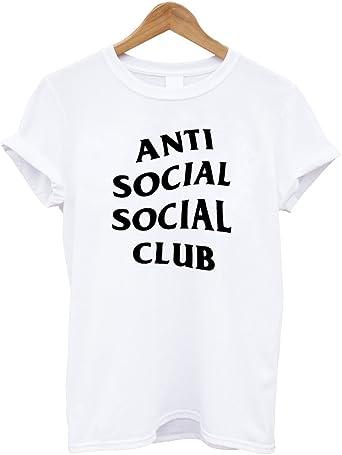 Mars NY Unisex Antisocial Social Club camiseta: Amazon.es: Ropa y accesorios