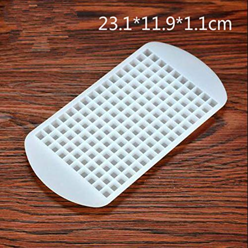 160 Ice Cubes Mini Cube 160 Ice Grids 1cm Mini Pudding Silicone Tray Mold Tool Silicone Ice Cube Bar Accessories 24121.2cm from Yichener