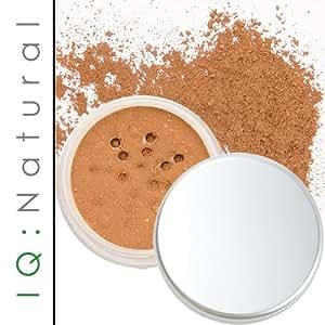 IQ Natural Premium Minerals Foundation Large 12gram SPF 'DARK SHADE'