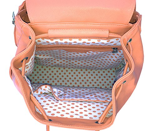 Court Couture Hampton Tennis Backpack - Coral