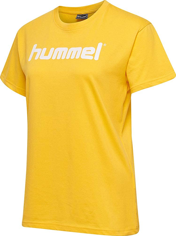 hummel Womens Hmlgo Cotton Logo Hooded Pullover
