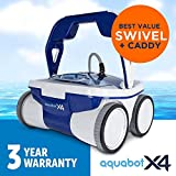 New Aquabot Extreme X4 Robotic Inground Pool Cleaner - Compare to Turbo Classic