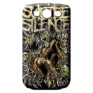 samsung galaxy s3 Nice Anti-scratch pattern mobile phone case suicide silence