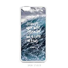 Inspirational Quotes Esther 4:14 Christian Sea Wave Teen Girl Scripture Wall Decal Bible Verse Bumper Soft Rubber iPhone 5s SE Case