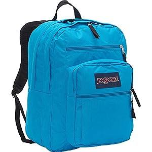 JanSport Big Student Backpack- Discontinued Colors (Blue Crest)