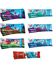 CLIF Bars Duos Bars, Energy Bars made with Organic Oats, Plant Based Protein, Vegan Friendly, Variety Pack (18 Count, 2.4 Ounce Protein Bar)