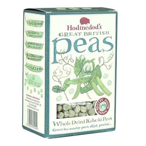 Hodmedod's - Whole Dried Kabuki Peas - 500g (Case of 12) by HODMEDOD'S