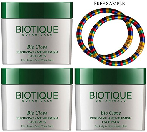 Biotique Clove Purifying Anti-Blemish Face Pack For Oily & A