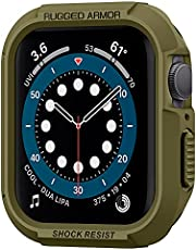 Spigen Rugged Armor Case for Apple Watch Series SE, 6, 5 and 4