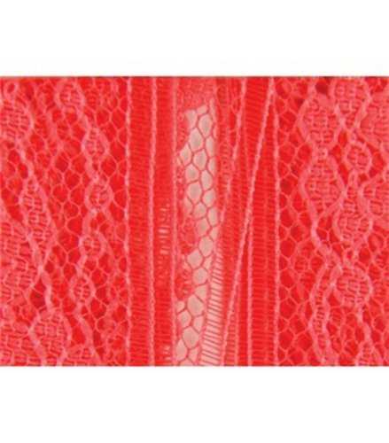 Wrights Flexi-Lace Hem Tape 3/4 Inch 3 Yards-Coral 305-351