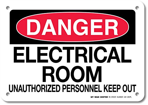 Danger Electrical Unauthorized Personnel Sign
