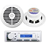 Pyle Marine Stereo AM/FM Receiver USB/SD iPod/MP3 Player + 2 x 120W 6.5 Speakers