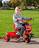 Schwinn Easy Steer 4 in 1 Tricycle, Red
