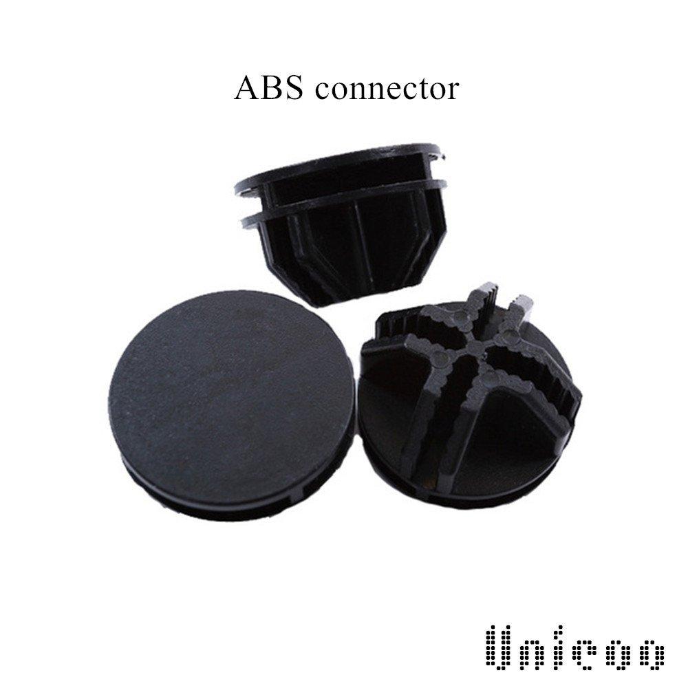 Amazon.com: Unicoo - Cube Organizer Plastic Connectors Black Set of ...