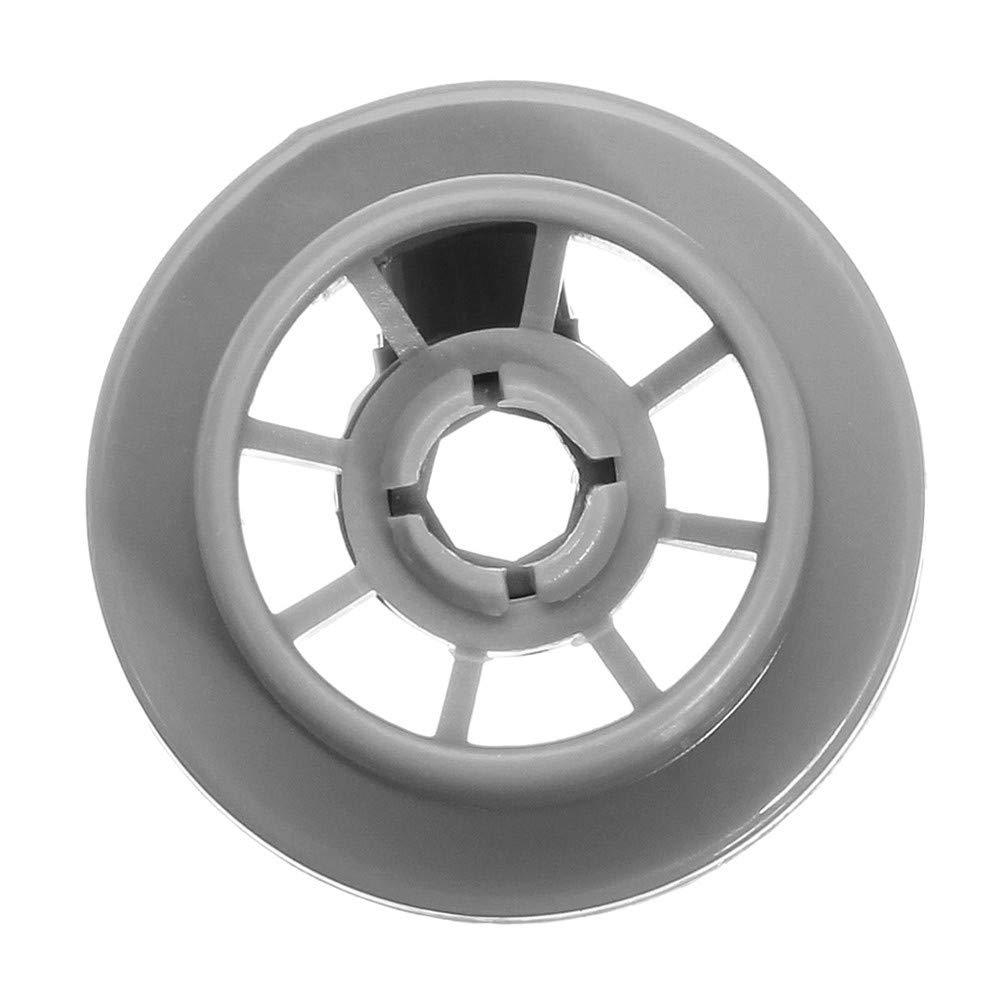 Kungfu Mall 4pcs Dish Washer Wheel Roller Lower Rack Basket Wheel Roller for Bosch