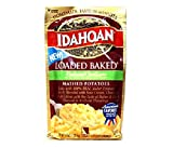 Idahoan Reduced Sodium Loaded Baked Mashed Potato (Pack of 3) 4 oz Bags