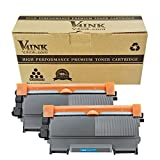 V4INK 2 Pack Replacement for Brother TN450 TN420 Black Toner Cartridge High Yield Use for HL-2240d HL-2270dw HL-2280dw MFC-7360n MFC-7860dw Series Printer