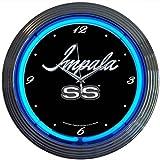Cheap Neonetics Cars and Motorcycles Impala Neon Wall Clock, 15-Inch