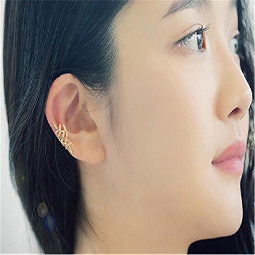 TraveT Lady Alloy Earrings Leaves