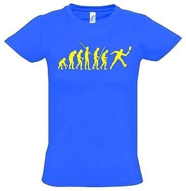meet 0e8c5 2b065 Tennis Evolution Kinder T-Shirt Kids Gr.128-164 cm: Amazon ...