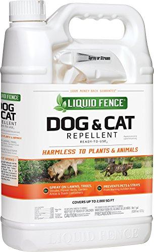 039857 Liquid Fence Dog & Cat Repellent , gallon