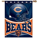 NFL Chicago Bears 27-by-37-Inch Vertical Flag Review