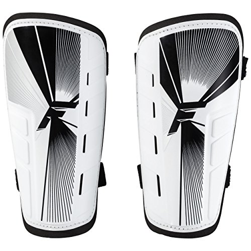 Franklin Sports Superlight Shin Guards (Large, Assorted - Shin Soccer Guard
