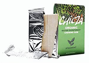 "Natural Mayan Chewing Gum ""Chicza"" - 2 x 12 Spearmint Gums"