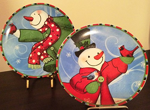 Set of 2 Snowman Novelty Holiday
