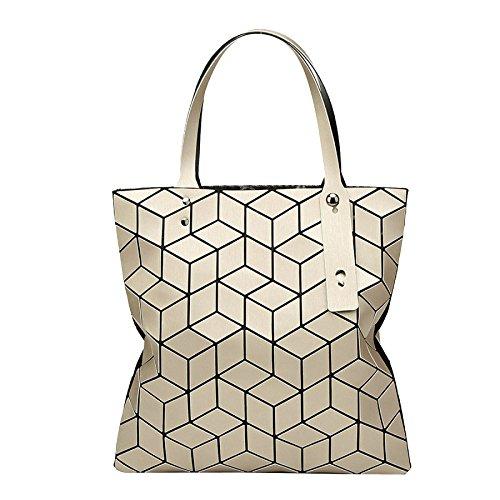 Geometría Bolso Lingge Plegable Mate Bolso Moda Bolso De Mujer N