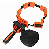 Pulusi Woodworking Multifunction Strap Clamp Polygons Angle Clip Belt Clamp Quick Adjustable Band Clamp Photo Frame Clamp With 4M Long Nylon Belt