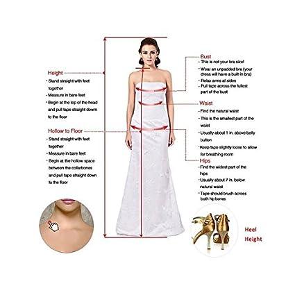 tidetell 2016 Vestido de dama corta cuello en V Cintura Acanalado Empire State de Nueva Homecoming Vestido: Amazon.es: Ropa y accesorios