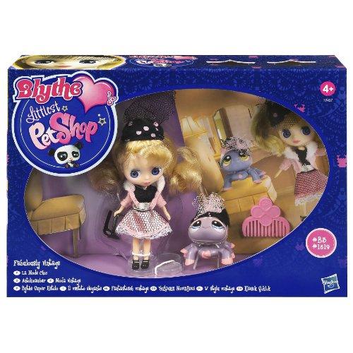 (Littlest Pet Shop Blythe and Pet - Fabulously Vintage)