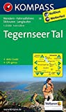 Tegernseer Tal: Wanderkarte mit Aktiiv Guide, Radwegen, Skitouren und Loipen. GPS-genau. 1:25000 (KOMPASS-Wanderkarten, Band 8)