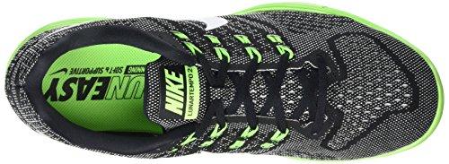 Nike Mens Lunartempo 2 Loopschoen Zwart / Groen