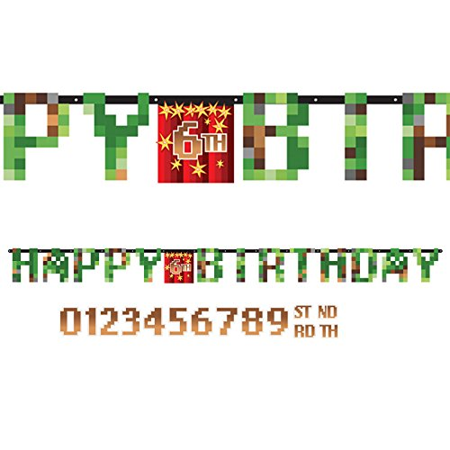 TNT Party! Jumbo Add-an-Age Happy Birthday Letter Banner -