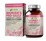 Vitamin Bounty Womens Daily Probiotic - 10 Billion CFUs Per Serving, 5 Strains, Prebiotic and Probiotic